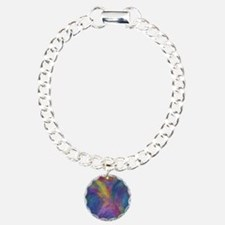 Abstract in Blues Bracelet