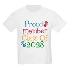 Class Of 2028 Pride T-Shirt