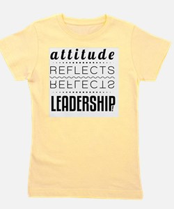 Leadership: Attitude Girl's Tee