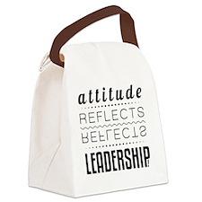 Leadership: Attitude Canvas Lunch Bag