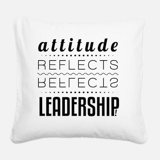 Attitude Square Canvas Pillow