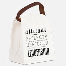 Attitude Canvas Lunch Bag