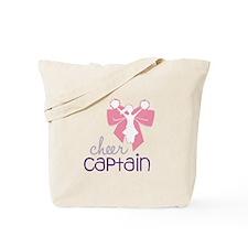 Cheer Captain Tote Bag