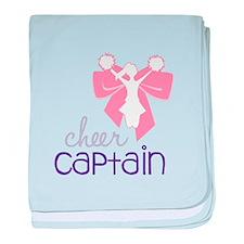 Cheer Captain baby blanket