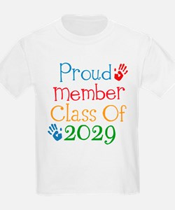 Class Of 2029 Pride T-Shirt
