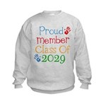 Class Of 2029 Pride Kids Sweatshirt