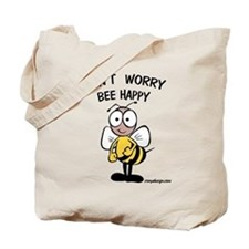 Don't Worry Bee Tote Bag