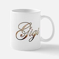 Gold Gigi Mugs