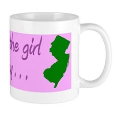 ypu can take the girl out of Jersey bum Small Small Mug