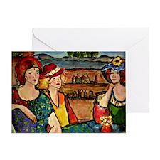 Saturday's Sisters Greeting Card