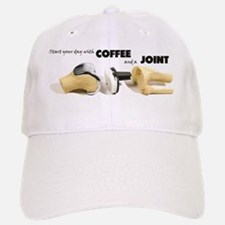 Coffee & a Joint Baseball Baseball Cap