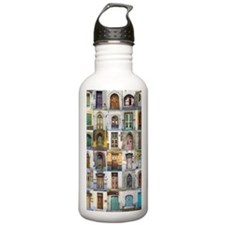 Doors of Tallinn Water Bottle