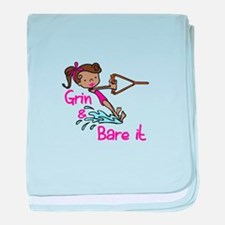 Grin & Bare It baby blanket