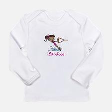 iBarefoot Girl Long Sleeve T-Shirt