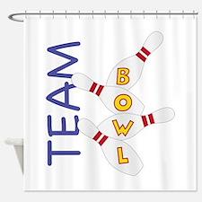 Team Bowl Shower Curtain
