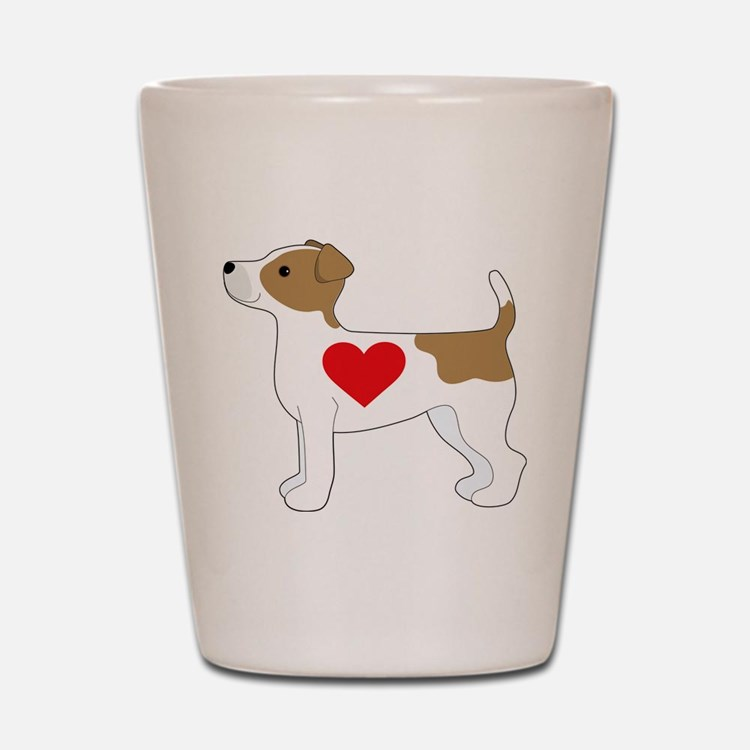 Jack Russell Terrier Shot Glass