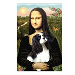 Mona's Tri Cavalier Postcards (Package of 8)