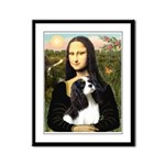 Mona's Tri Cavalier Framed Panel Print