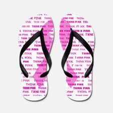Breast Cancer Think... Flip Flops