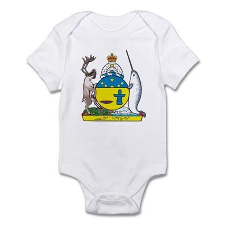 Nunavut Coat Of Arms Infant Bodysuit