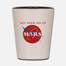 Cute Mars Shot Glass