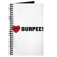 I love hate burpees Journal