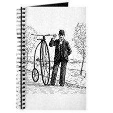 Penny Farthing Bicyclist Journal