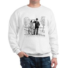 Penny Farthing Bicyclist Sweater