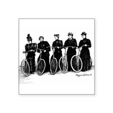 Five Lady Cyclers Sticker