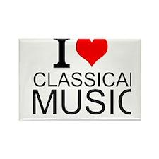 I Love Classical Music Magnets