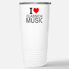 I Love Classical Music Travel Mug