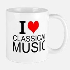 I Love Classical Music Mugs