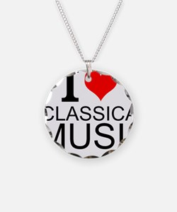 I Love Classical Music Necklace