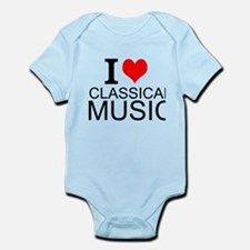 I Love Classical Music Body Suit