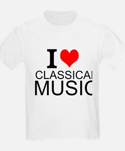 I Love Classical Music T-Shirt