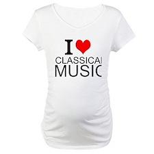 I Love Classical Music Shirt