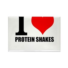 I love Protein Shakes t shirt Magnets