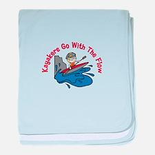 The Flow baby blanket