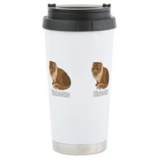 Unique Catz Stainless Steel Travel Mug