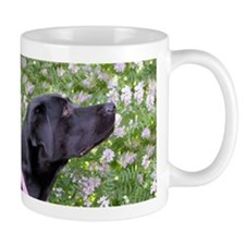 Labrador in the flowers Mugs