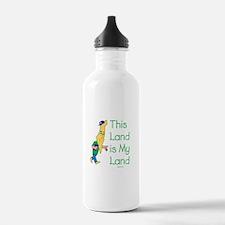 Israel Belongs To the Jews Water Bottle