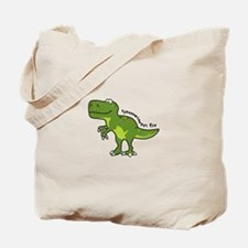Tyrannesaurus Tote Bag