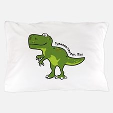 Tyrannesaurus Pillow Case