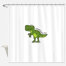 Tyrannesaurus Shower Curtain