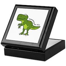 Tyrannesaurus Keepsake Box