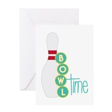 Bowl Time Greeting Cards