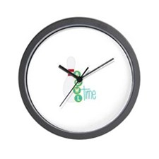 Bowl Time Wall Clock