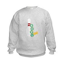 Bowl On Sweatshirt