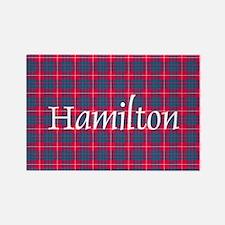 Tartan - Hamilton Rectangle Magnet