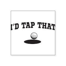 I'd tap that golf Sticker